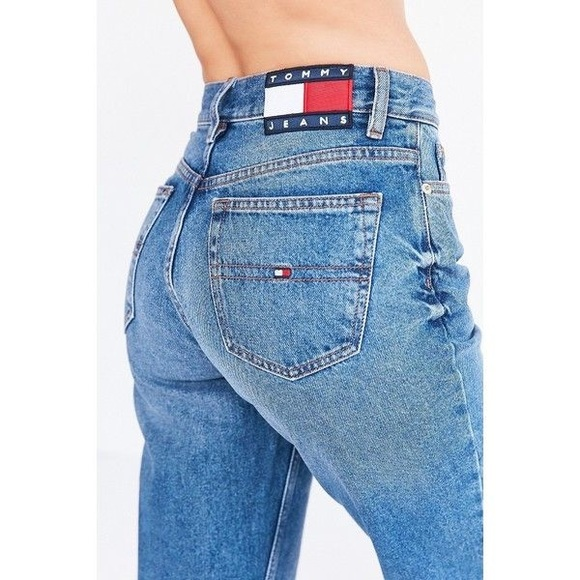 3b76d547f Urban Outfitters Jeans | Tommy Hilfiger Mom Jean | Poshmark